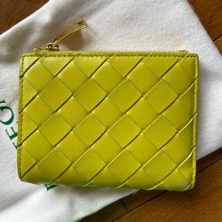 Bottega Veneta - ボッテガヴェネタ キウイグリーン二つ折り財布 ニューボッテガ