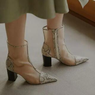 アメリヴィンテージ(Ameri VINTAGE)のメッシュブーツ(ブーツ)