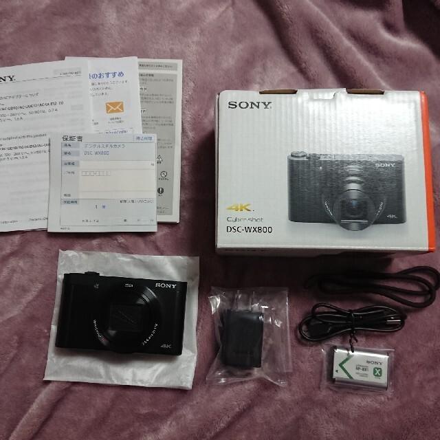 SONY(ソニー)のsony/DSC-WX800デジタルカメラ スマホ/家電/カメラのカメラ(コンパクトデジタルカメラ)の商品写真