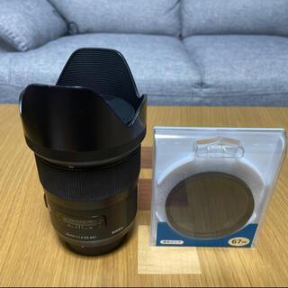 Nikon - SIGMA Art 35mm f1.4 DG Nikon Fマウント+フィルター