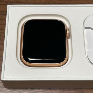 Apple Watch - apple watch se 44mm gps ゴールド