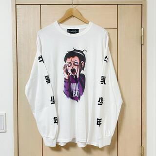 ミルクボーイ(MILKBOY)の楳図かずお× MILKBOY限定コラボロンTEE(Tシャツ/カットソー(七分/長袖))
