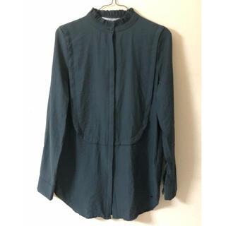 ケービーエフ(KBF)のKBF スタンドカラードレスシャツ(シャツ/ブラウス(長袖/七分))