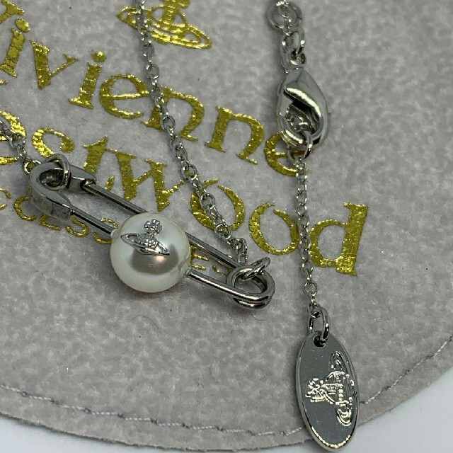 Vivienne Westwood(ヴィヴィアンウエストウッド)の【新品】Vivienne Westwood パールネックレス レディースのアクセサリー(ネックレス)の商品写真