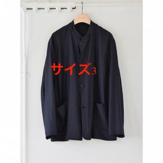 COMOLI - 新品 21aw comoli ウールフラノスタンドカラージャケット