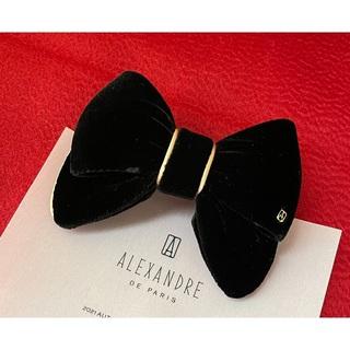 Alexandre de Paris - アレクサンドル ドゥ パリ 50th ベルベット 黒