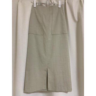 ROPE - ROPE ポケット付きタイトスカート 日本製