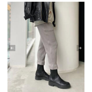 L'Appartement DEUXIEME CLASSE - 【AMERICANA】Thermal relax Pants グレー