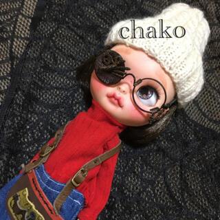 ブライスアウトフィット 革小物 スチームパンクなメガネ ハロウィン🎃バージョン(その他)