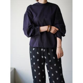 マメ(mame)のMameKurogouchi Cotton Jersey Pullover(カットソー(長袖/七分))