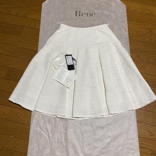 ルネ(René)の2020ルネ ツィードスカート新品未使用36(ひざ丈スカート)