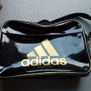 adidas - アディダス  エナメルバッグ わけあり ジャンク