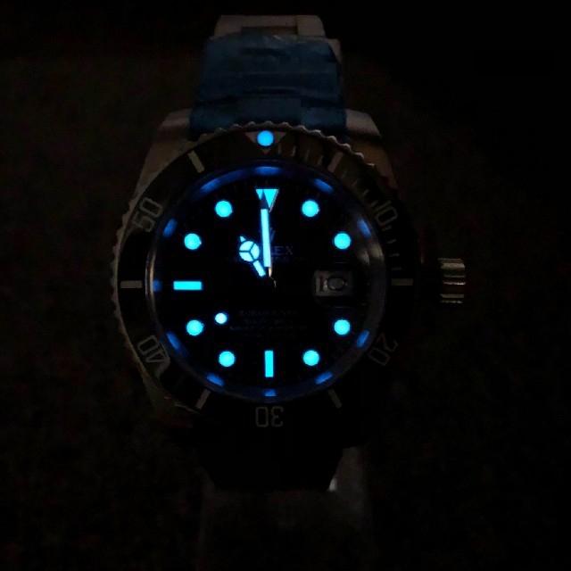 新品未使用 ダイバーズウオッチ 送料無料 メンズの時計(その他)の商品写真