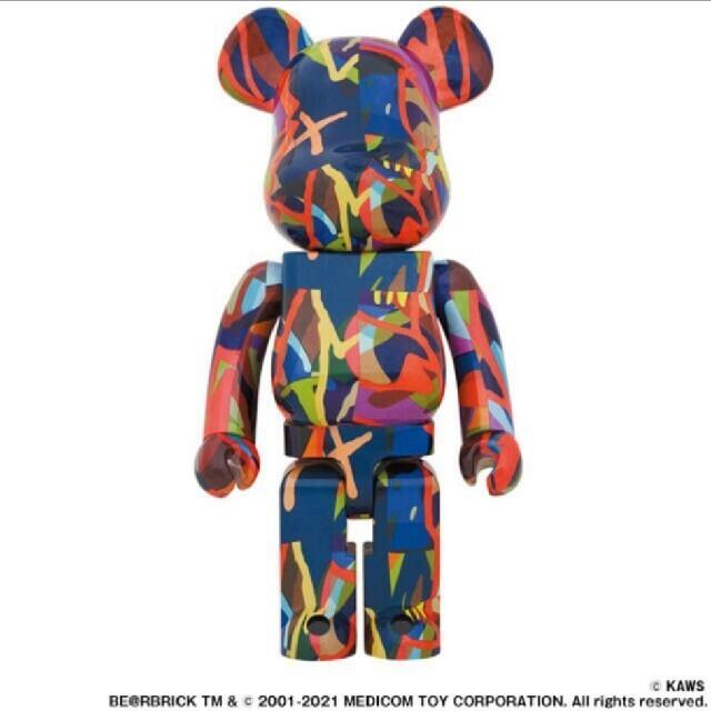 BE@RBRICK KAWS TENSION 1000% エンタメ/ホビーのフィギュア(その他)の商品写真