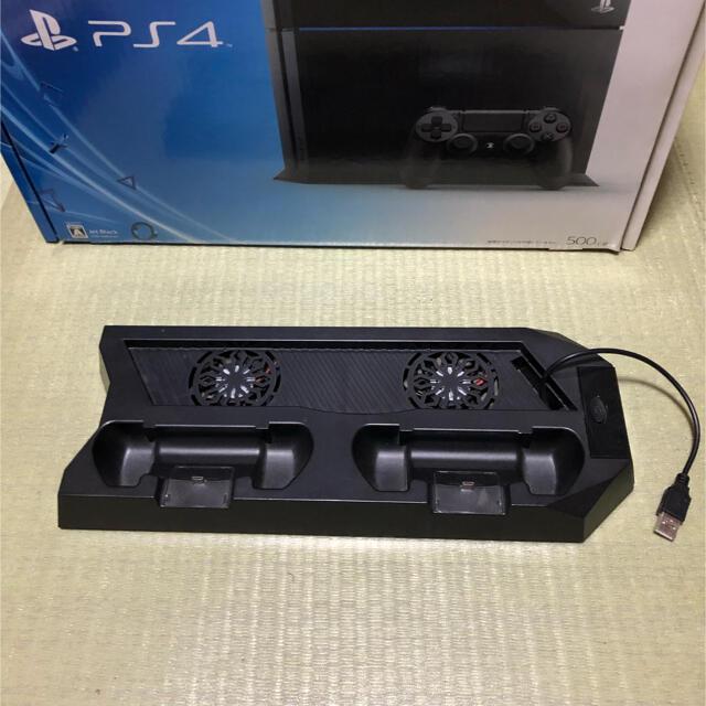 PlayStation4(プレイステーション4)のSONY PlayStation4 本体  オマケ付き エンタメ/ホビーのゲームソフト/ゲーム機本体(家庭用ゲーム機本体)の商品写真