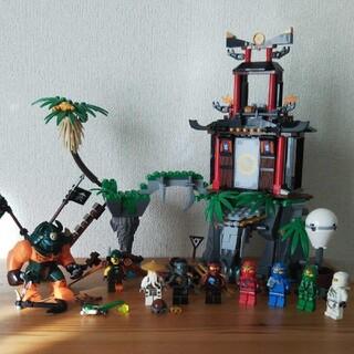 レゴ(Lego)のLEGO 70604 ニンジャゴー 離れ小島ティガー島 ミニフィグ 4体追加(キャラクターグッズ)