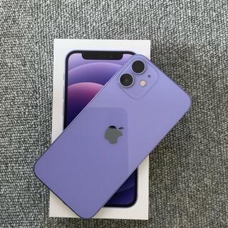 iPhone - iPhone 12 mini 128GB SIMフリー パープル