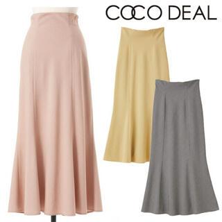 COCO DEAL - ギンガムチェックマーメイドスカートココディール
