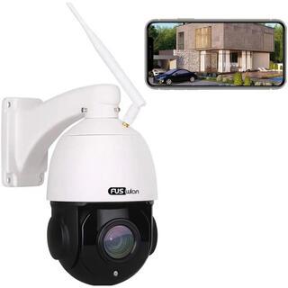 防犯カメラ 屋外 PTZカメラ ネットワーク 1080P高画素(防犯カメラ)