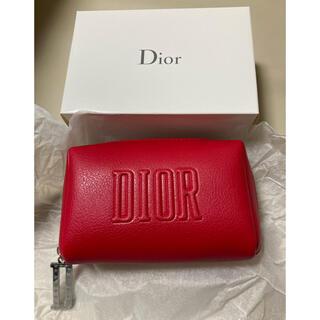 Dior - ♡Dior♡  限定 ノベルティ ポーチ レッド