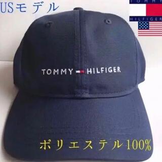 トミーヒルフィガー(TOMMY HILFIGER)のレア 新品 TOMMY HILFIGER USA ネイビー キャップ ゴルフ(キャップ)