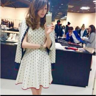 ダブルスタンダードクロージング(DOUBLE STANDARD CLOTHING)の美香さん着用 ダブスタ ワンピース(ひざ丈ワンピース)