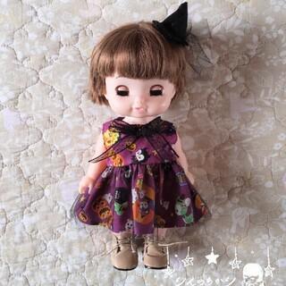 !専用! ハロウィン紫ワンピース+帽子 桃のお布団セット(その他)