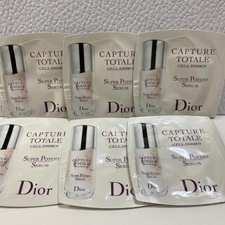 ディオール(Dior)のディオール☆美容液 カプチュールトータルセルENGY(美容液)