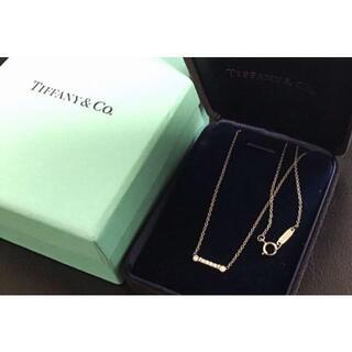 Tiffany & Co. - Tiffany&Co ティファニー フルールドリス バーネックレス プラチナ