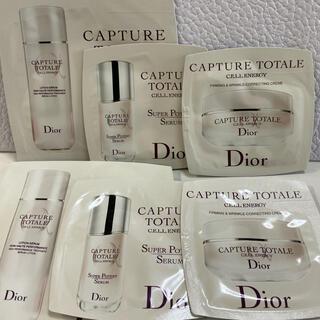 ディオール(Dior)のディオール☆カプチュール ローション、美容液、クリーム(美容液)