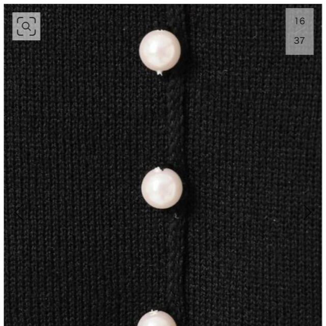 La TOTALITE(ラトータリテ)の美品 完売 La Totalite スムースバックパールボタン プルオーバー レディースのトップス(ニット/セーター)の商品写真