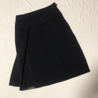 ヴィヴィアンタム(VIVIENNE TAM)のヴィヴィアンタム プリーツ メッシュ 膝丈スカート 0(ひざ丈スカート)