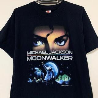 マイケルジャクソン Tシャツ 黒 michael jackson