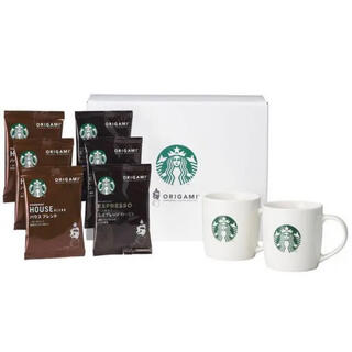 Starbucks Coffee - 【新品未開封】スターバックス オリガミ マグカップ ギフト SBC-30S