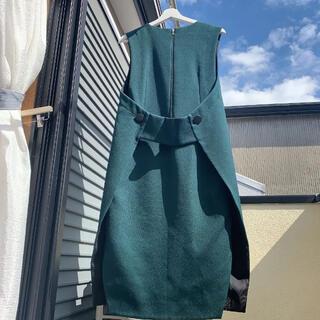 ADORE - アドーア 秋カラージャンパースカート グリーン