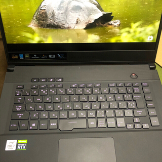 エイスース(ASUS)の【4k】ASUS ノートパソコン ROG zephyrus M15 2070(ノートPC)