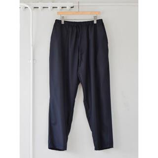 COMOLI - 新品 21AW サイズ1 ウールフラノ ドローストリング パンツ  comoli