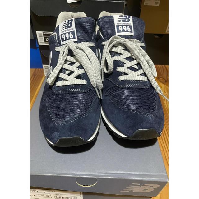 New Balance(ニューバランス)のニューバランス スニーカー CM996 ネイビー BN 30cm D メンズの靴/シューズ(スニーカー)の商品写真
