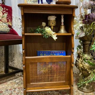 カリモク家具 - カリモク キャビネット サイドテーブル カリモクコロニアル