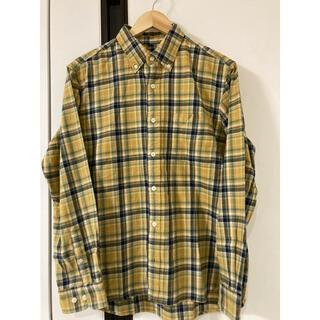 UNIQLO - チェックシャツ ネルシャツ ユニクロ