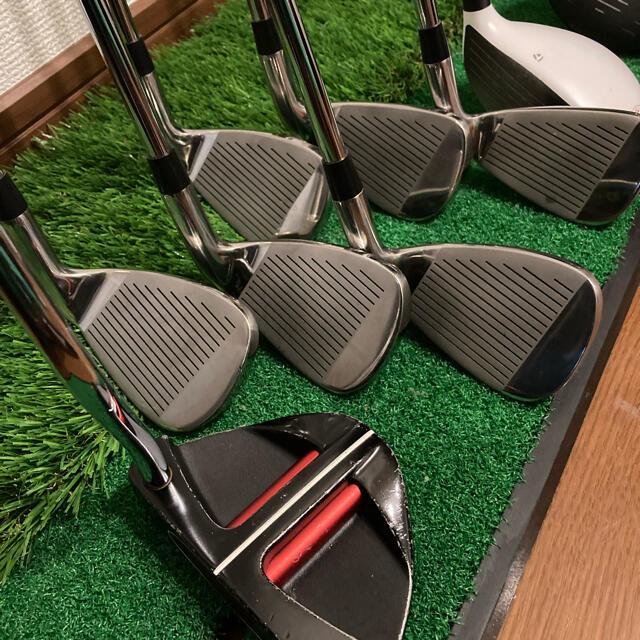 TaylorMade(テーラーメイド)の【レフティ】ゴルフクラブセット ゴルフセット テーラーメイド スポーツ/アウトドアのゴルフ(クラブ)の商品写真