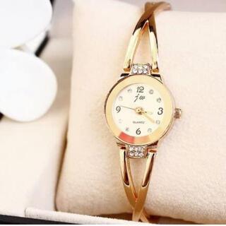 レディース腕時計 アナログ腕時計 ブレスレット腕時計 ピンクゴールド