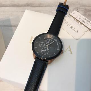 フルラ(Furla)の【本革】FURLA フルラ レディース レザーベルト ラウンド クォーツ 腕時計(腕時計)