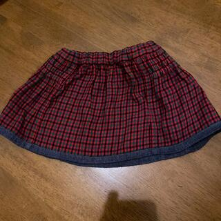 familiar - familiar リバーシブルスカート