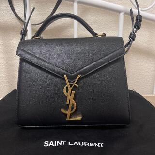 サンローラン(Saint Laurent)のYSL  カサンドラ トップハンドル ブラック(ショルダーバッグ)