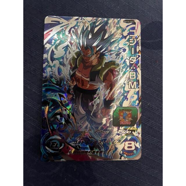 ドラゴンボール(ドラゴンボール)のドラゴンボールヒーローズ BM10-sec ゴジータBM  エンタメ/ホビーのトレーディングカード(シングルカード)の商品写真