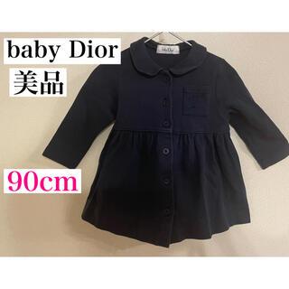 ベビーディオール(baby Dior)の★baby Diorワンピース★90cm 胸元にはCDの刺繍が入ってます♪(ワンピース)