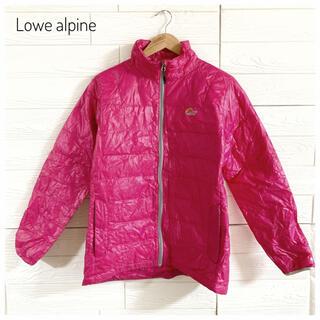 ロウアルパイン(Lowe Alpine)の【1度のみ着用】LoweAlpine ロウアルパイン ダウンジャケットレディース(登山用品)