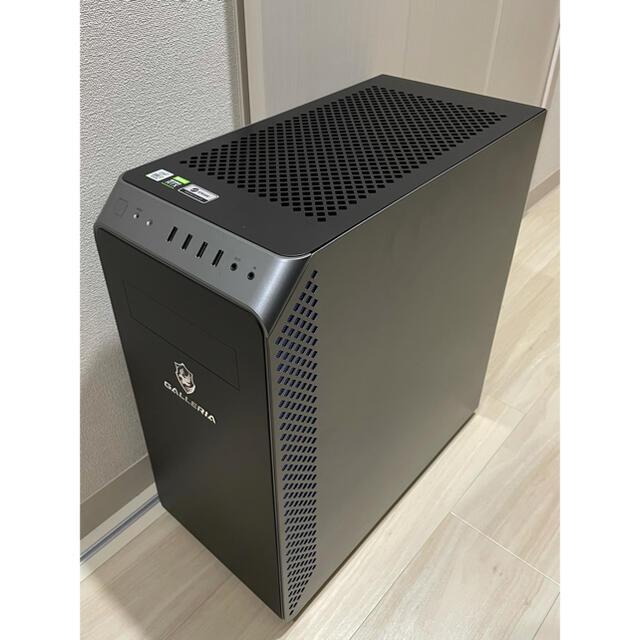 GALLERIA BTO Core i7-10700 RTX3060ti スマホ/家電/カメラのPC/タブレット(デスクトップ型PC)の商品写真