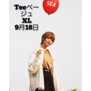 SEA - BALLOON TEE / BEIGE (BALL-03)